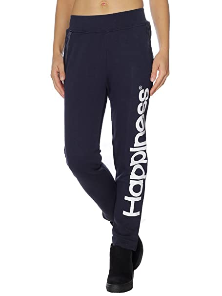 M Amazon it Pantalone Mainapps Donna Blu Tuta Happiness zxIn1Aqz