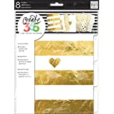 Me and My BIG Ideas DIV-01 Create 365 The Happy Planner Gold Foil Dividers
