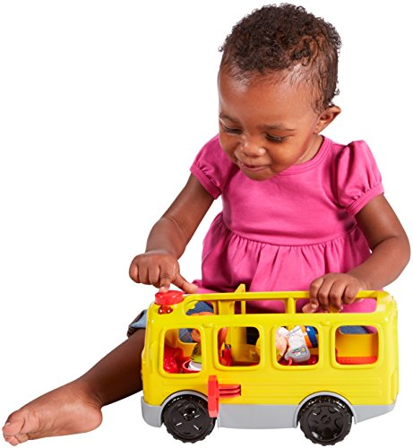 51XWL2vjTxL - Fisher-Price Little People Sit with Me School Bus Vehicle