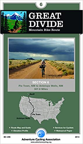 Great Divide Mountain Bike Route 6 Pie Town New Mexico Antelope