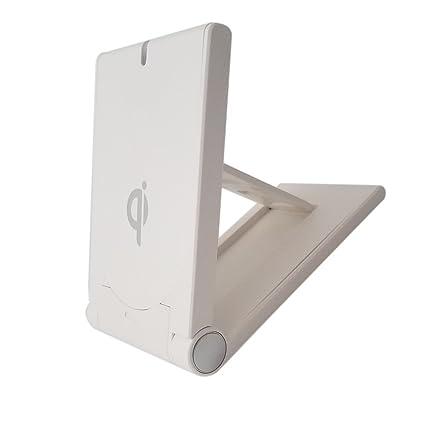 Amazon.com: ccdo Cargador inalámbrico Qi soporte de carga ...