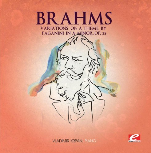 Brahms Variations On A Theme By Paganini (ep) Symphonic Music
