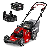 Snapper HD 48V MAX Electric Cordless Self-Propelled Lawnmower Kit with...