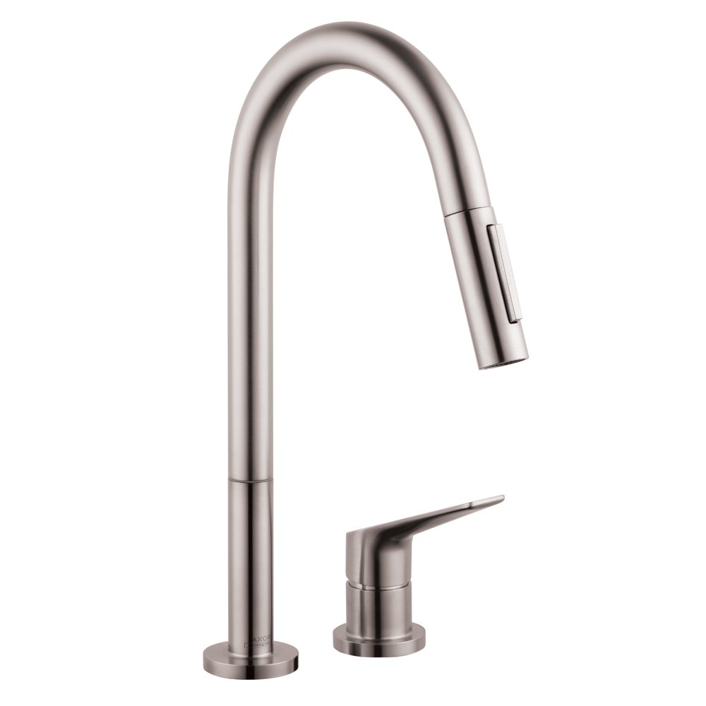 Hansgrohe 34822801 Citterio M Hole Kitchen Faucet Steel Optik 1 75