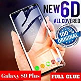 Own Shop 5D Tempered Glass for Samsung Galaxy S9 Plus - Black