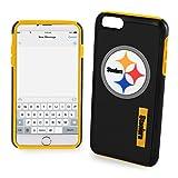 "Pittsburgh Steelers Impact TPU 2-Piece Dual Hybrid iPhone 8 / iPhone 7 / iPhone 6 / iPhone 6s Case - 4.7"" Screen ONLY"