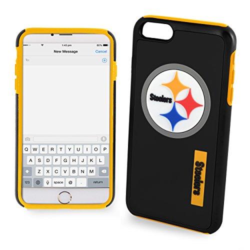 Pittsburgh Steelers Impact TPU 2-Piece Dual Hybrid iPhone 8 PLUS / iPhone 7 PLUS / iPhone 6 PLUS / 6s PLUS - 5.5