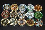 Designer Refrigerator Magnets - Majolica China Plates, Fine China Patterns Set 1