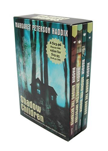 Download Shadow Children Boxed Set: Among the Hidden, Among the Impostors, Among the Betrayed, and Among the Barons pdf