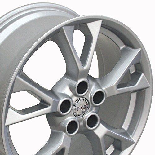 18x8 Wheel Fits Nissan, Infiniti - Nissan Maxima Style Silver Rim, Hollander 62582 by OE Wheels LLC (Image #1)