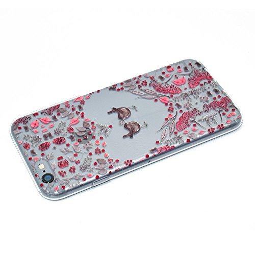 "HYAIT® For IPHONE 6 PLUS 5.5"" [XXG 17V4]Scratch-Proof Ultra Thin Rubber Gel TPU Soft Silicone Bumper Case Cover -BKI10"