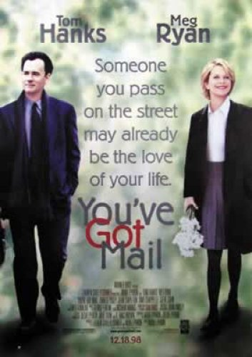 You've Got Mail - Movie Poster: Tom Hanks (Size: 27'' x 39'') (Poster & Poster Strip Set)