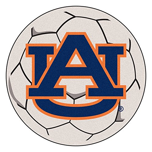 Fan Mats Auburn University Soccer Ball Rug