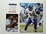 Adrian Peterson signed Minnesota Vikings 8x10 photo PSA/DNA cert with PROOF!!