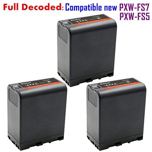 51XWNJXpZjL - Kastar BP-U66 Battery (3X) for Sony BP-U90 BP-U60 BP-U30 and PXW-FS7/FS5/X180 PMW-100/150/150P/160 PMW-200/300 PMW-EX1/EX1R PMW-EX3/EX3R PMW-EX160 PMW-EX260 PMW-EX280 PMW-F3 PMW-F3K PMW-F3L Camcorders