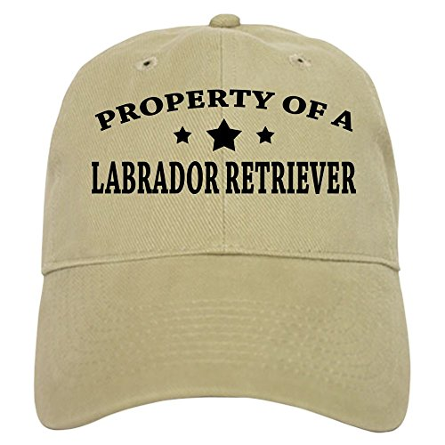 CafePress - Property of Lab - Baseball Cap with Adjustable Closure, Unique Printed Baseball Hat ()
