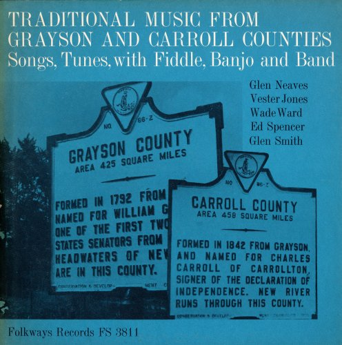 Tunes Bluegrass (Traditional Music from Grayson and Carroll Counties, Virginia: Songs, Tunes with Fiddle, Banjo and Band)