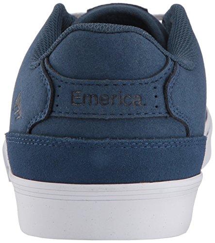 Vulc Gum Skate Reynolds Emerica The White Shoe Blue Low qI8vtCw