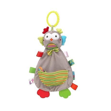 Toalla apaciguar a juguetes de dibujos animados bebé relleno de la ...
