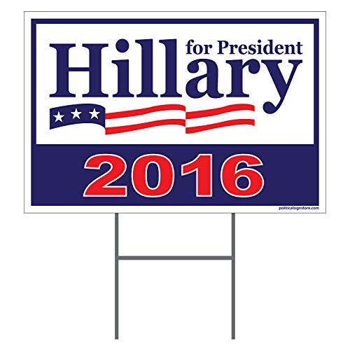 Imagine This Hillary Clinton for President 2016 Yard Sign