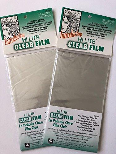 W. R. Rayson High Lite Clear Film - 4x7 .''2 Packs'' 100sheet/pack by W. R. Rayson