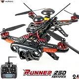 Original DRONE FPV WALKERA RUNNER 250 Advanced + DEVO 7 incluso + camera 1080P + OSD +(R)