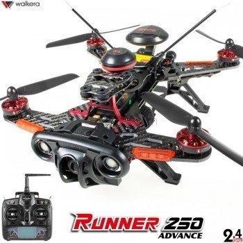 DRONE FPV WALKERA RUNNER 250 Advanced + DEVO 7 incluso + camera ...