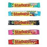 Starburst Singles (2.07oz) Bundle-1 of each: fave reds, original, summer splash, tropical, sweet heat