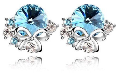 Mondaynoon-Valentines-Gifts-Swarovski-Elements-Austrian-Crystal-Stud-Earrings-Spilling-Perfume