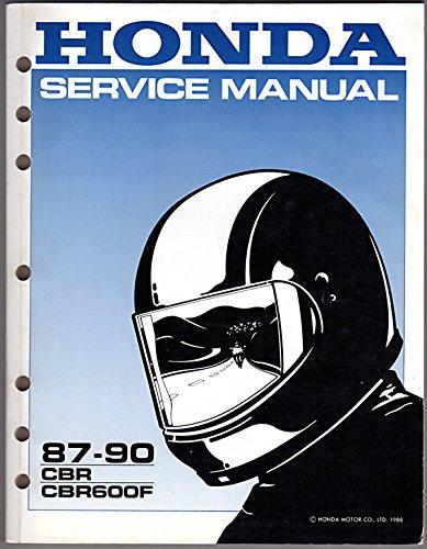(Honda Service Manual 87-90 CBR CBR600F)