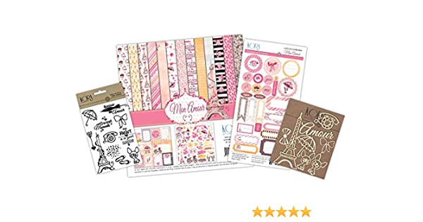 KIT de scrapbooking Mon Amour: Amazon.es: Hogar