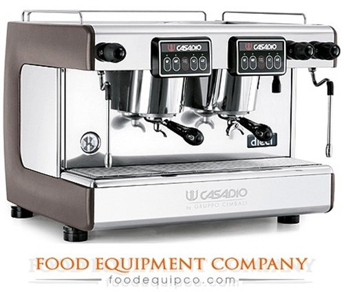 Amazon.com: Casadio DIECI A2 2-Head Automatic Espresso Machine: Combination Coffee Espresso Machines: Kitchen & Dining