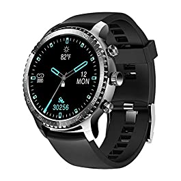 Tinwoo Smart Watch for Men, Support Wireless Charging, Bluetooth Fitness Tracker with Heart Rate Monitor, 2020 Version…