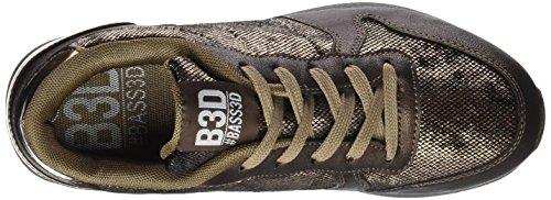 Des Bass3d D'or De Bass3d 041381 Femmes bronce Formateurs Bronze 041381 qTxawvIa