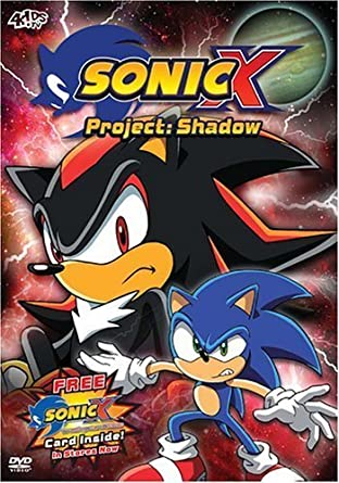 Amazon Com Sonic X Project Shadow V 8 By Funimation Prod Movies Tv