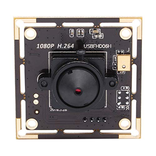 (Video Camera Module USB 2.0 Camera Board for Raspberry pi Android Mac OS Windows Linux HD Surveillance Camera with Audio H.264 (3.7mm pinhole Lens))