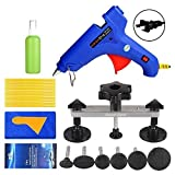 Fly5D 22Pcs Automotive No-scratch Paintless Dent Repair Kit Upgraded Dent Removal Bridge Puller kit