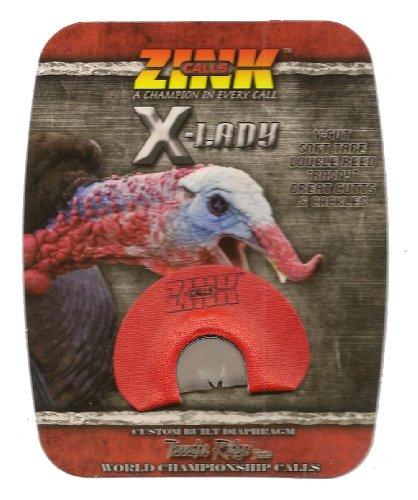 X-Lady Double Reed Turkey Call Custom Built Diaphragm ~ Z...