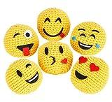 2'' Emoji Hackysack 12pcs