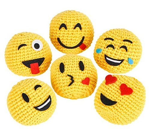 2'' Emoji Hackysack 12pcs by AfterthoughtRI
