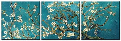 Van Gogh Blossoming Almond Tree Canvas Wall Art Picture Canvas Art Cheap Print