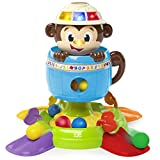 Bright Starts Baby Toy, Hide 'n Spin Monkey