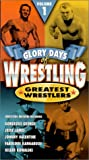 Glory Days of Wrestling Vol. 1 [VHS]