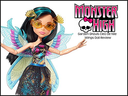 Review: Monster High Garden Ghouls Cleo De Nile Wings Doll (Disney Wings)
