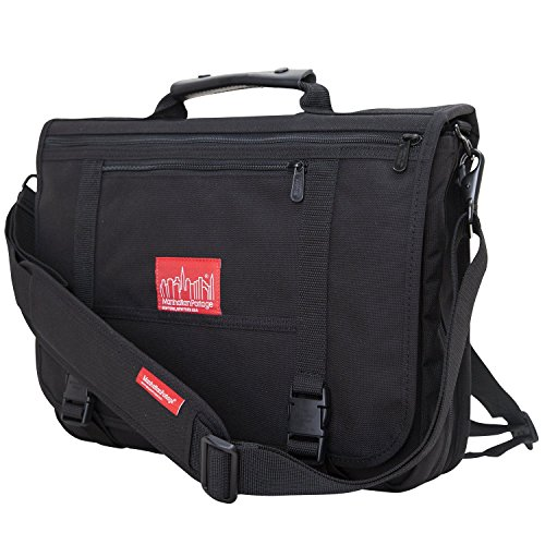 Manhattan Portage Luggage - Manhattan Portage The Wallstreeter (One Size, Black)