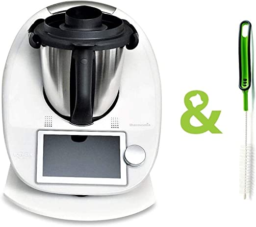 Thermomix TM6 TM5 TM31 - Deslizador para Tabla Deslizante y Cuchillo, Color Blanco: Amazon.es