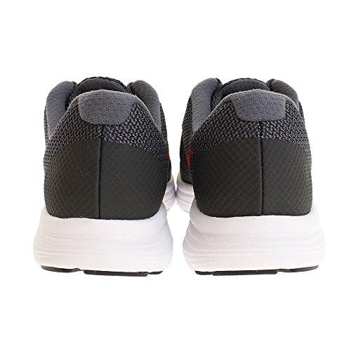 Nike Kids Revolution 3 (gs) Loopschoenen Zwart / Universiteit Rood / Donkergrijs