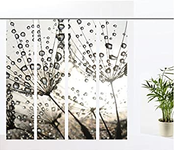 gardinen-for-life Flächenvorhang Dream Silver - 4er - Serie ...
