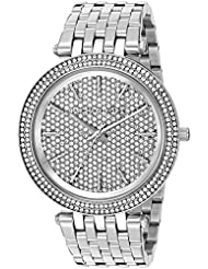 Michael Kors Womens Darci Silver-Tone Watch MK3437