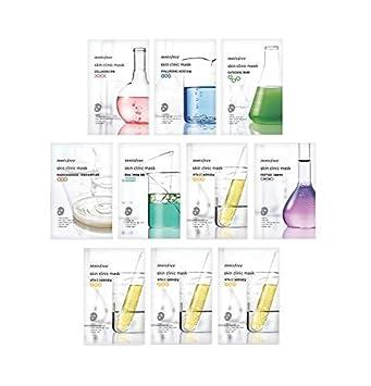 Innisfree Skin Clinic Mask Sheet (Variety Set – 10 Sheets)